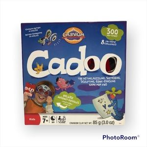Cadoo Board Game Kids Children Family Game Gently Used by Cranium Creators